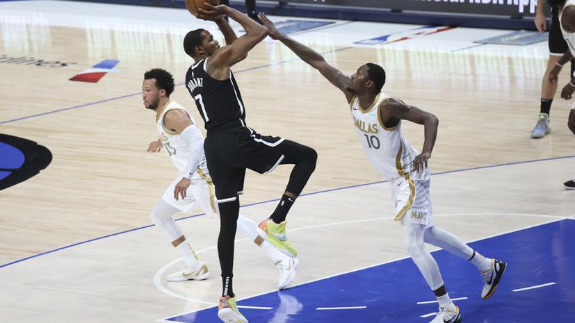 «Бруклин» уступил «Далласу» в матче НБА, несмотря на 45 очков Ирвинга
