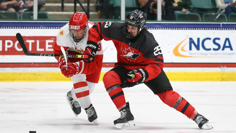 Капитан юниорской сборной России по хоккею объяснил поражение от Канады