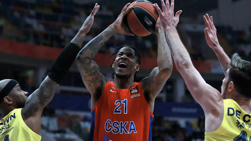 Баскетболист ЦСКА Клайберн признан MVP Евролиги в апреле