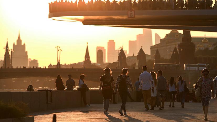 Синоптик пообещал тёплое лето в Москве
