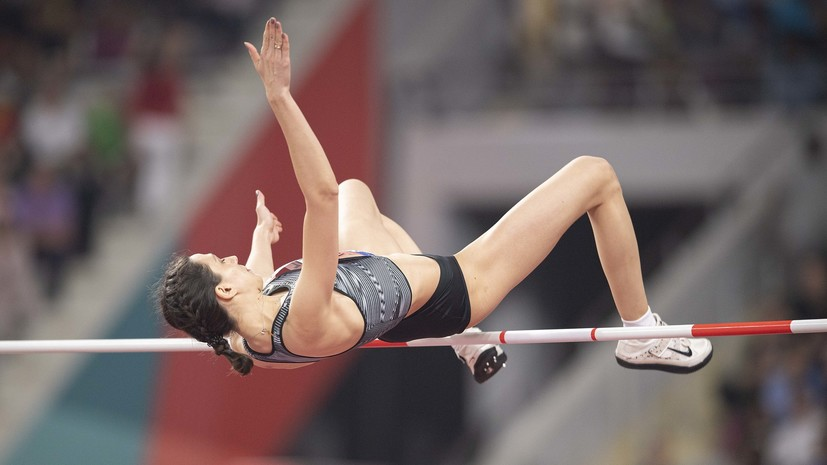 Ласицкене выступит на легкоатлетическом турнире во Франции