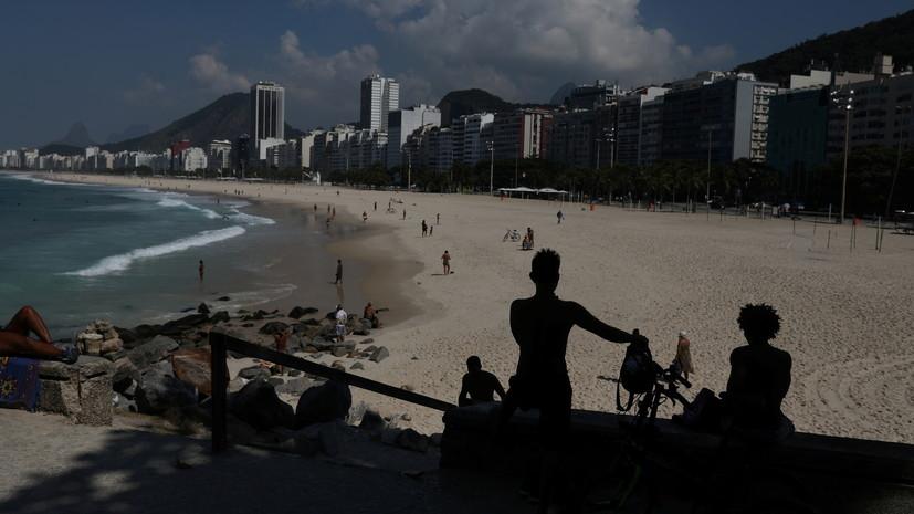 В Бразилии число случаев коронавируса за сутки возросло на 78 тысяч