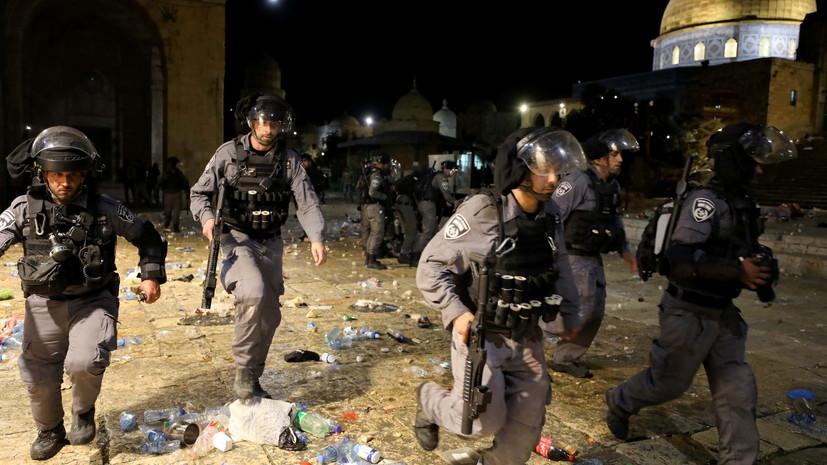 В Иерусалиме число пострадавших в ходе беспорядков у мечети достигло 205