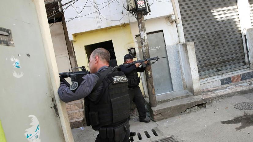 В Рио-де-Жанейро число жертв перестрелки в метро увеличилось до 28