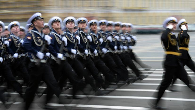 Во Владивостоке прошла генеральная ночная репетиция парада