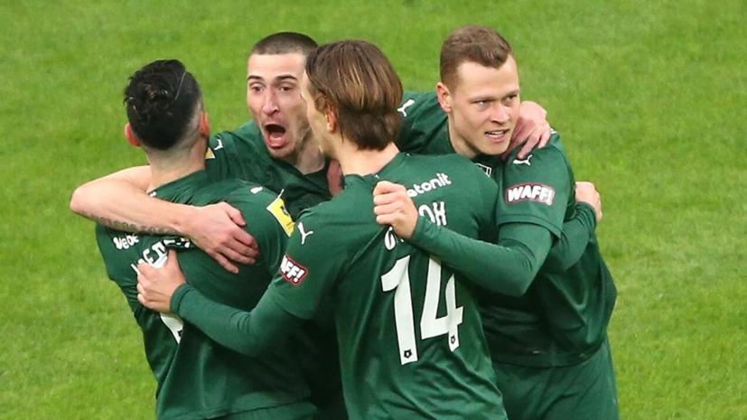 «Краснодар» вышел вперёд в матче с ЦСКА после ошибки защитников армейцев