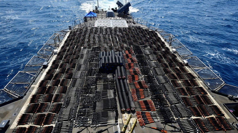 ВМС США заявили о конфискации оружия из России и КНР в Аравийском море