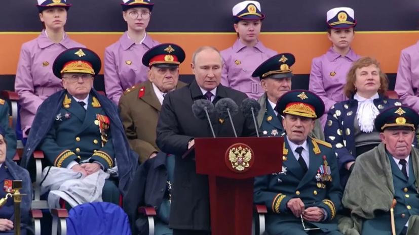 Путин: Россия будет твёрдо защищать свои национальные интересы