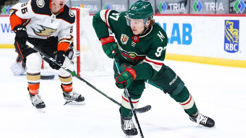 Капризов обновил личный рекорд  результативной серии в НХЛ