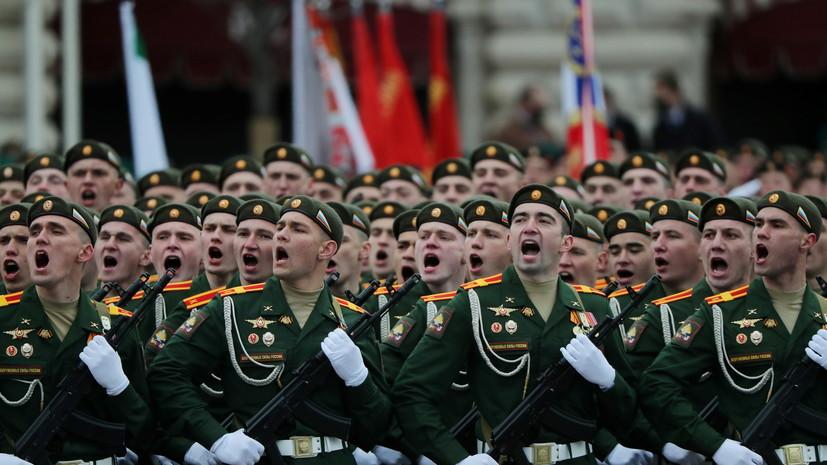 Парад Победы в Москве завершился пролётом авиации