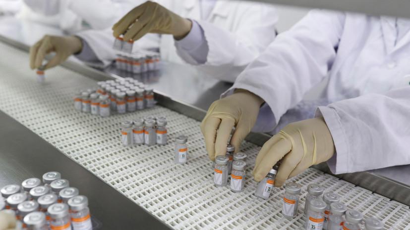 Египет запустит в июне производство китайской вакцины Sinovac
