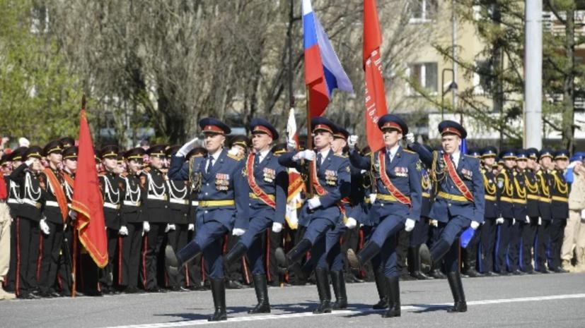 В Ижевске прошёл парад в честь 9 Мая