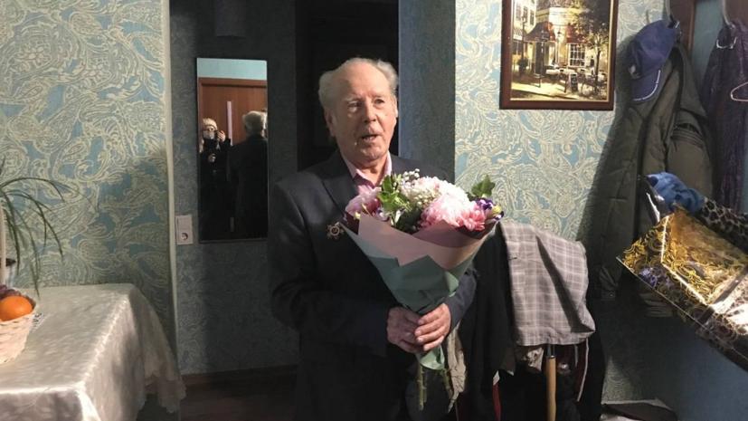 Ветеран Пётр Колчин поделился воспоминаниями о Великой Отечественной войне