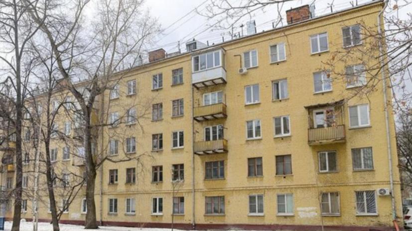 В Москве отремонтируют фасад первого столичного дома-коммуны