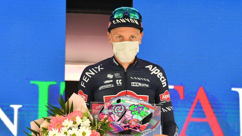Мерлир победил на втором этапе «Джиро д'Италия»