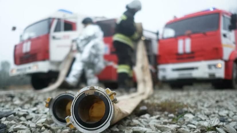 В Южно-Сахалинске ликвидировали пожар в гостинице