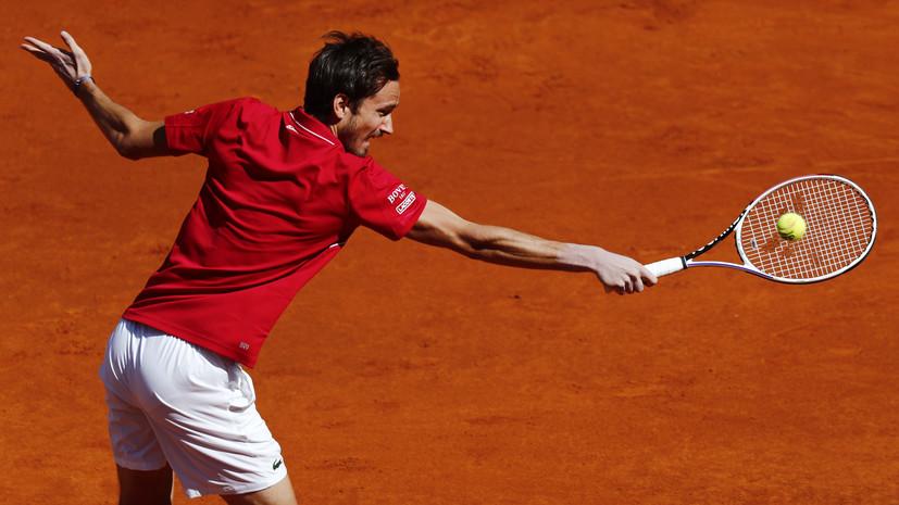 Медведев поднялся на вторую строчку в обновлённом рейтинге ATP