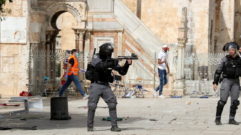 На Храмовой горе в Иерусалиме возобновились беспорядки