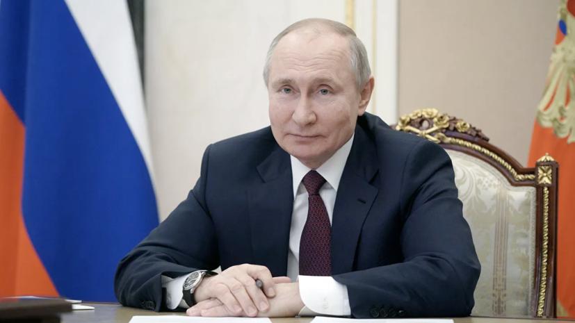 Путин назвал число привитых от коронавируса россиян