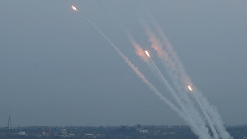 Израильская армия сообщила о запуске семи ракет из сектора Газа