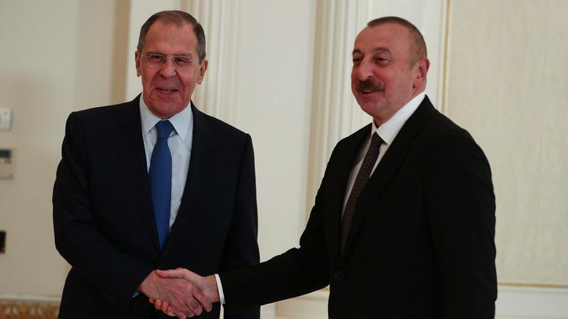 Алиев заявил о позитивной динамике в отношениях Москвы и Баку