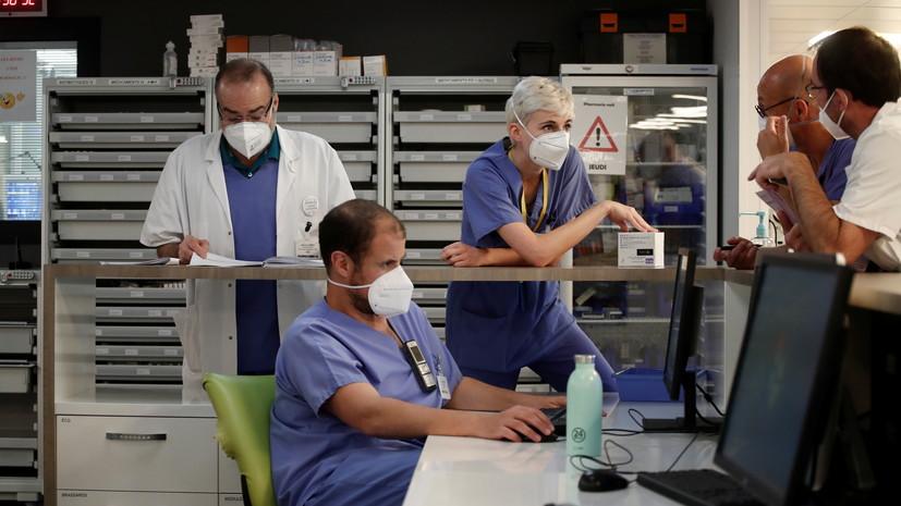 Во Франции за сутки выявили более 3 тысяч случаев коронавируса
