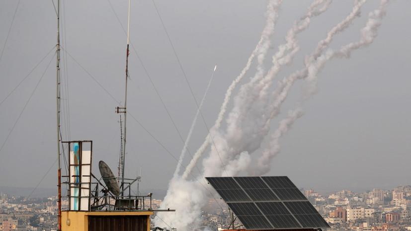 Армия Израиля сообщила о 150 выпущенных ракетах из сектора Газа0