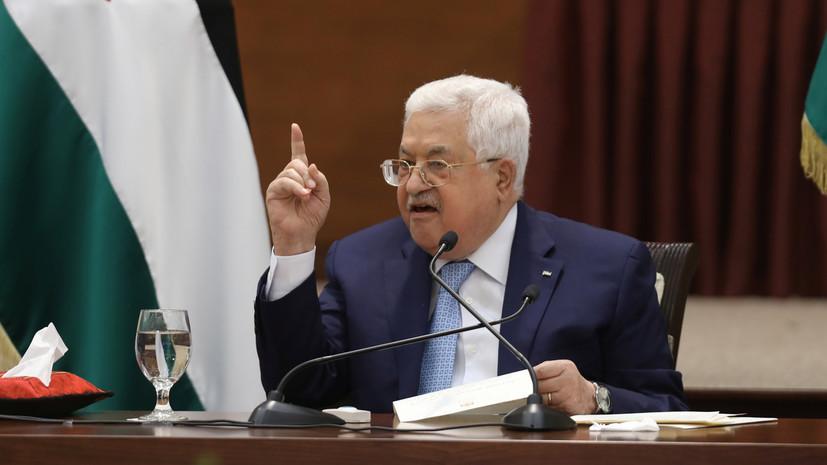 Глава Палестины отменил празднования в честь Ураза-Байрама