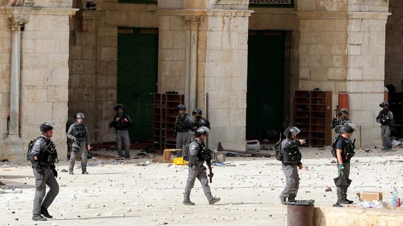 В ХАМАС дали Израилю два часа на вывод войск из района Аль-Аксы