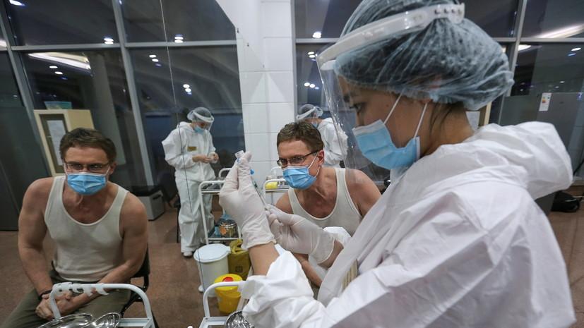 В Казахстане нет летальных исходов среди привившихся от COVID-19