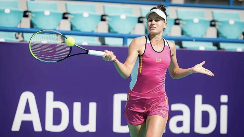 Кудерметова обыграла Мертенс и вышла во второй круг турнира WTA в Риме