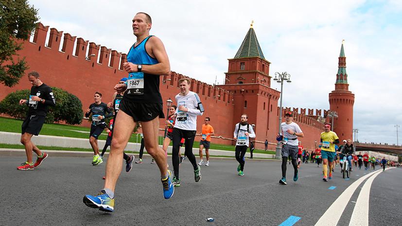 В рамках полумарафона и марафона в Москве состоятся корпоративные эстафеты