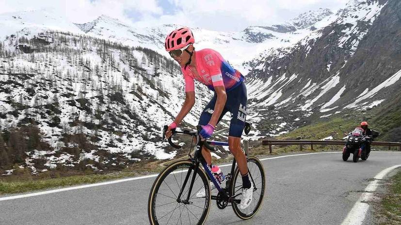 Домбровски победил на четвёртом этапе «Джиро д'Италия»