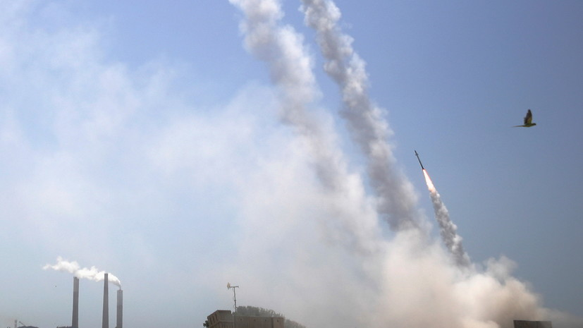 В армии Израиля сообщили о запуске более 600 ракет из сектора Газа