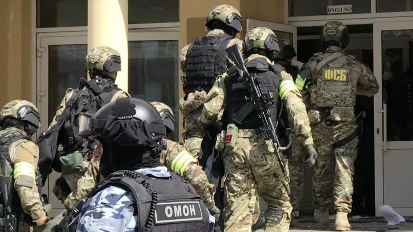 В СК опровергли данные о заложенном в казанской школе взрывном устройстве