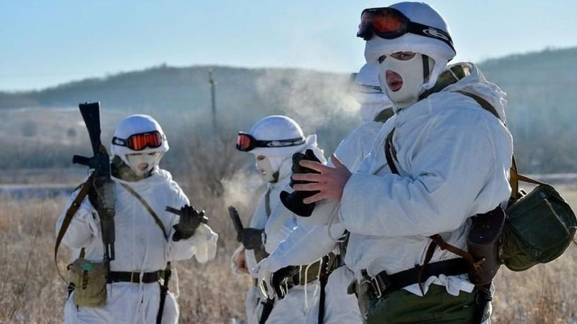 Мотострелки ЗВО провели учения в Ленобласти