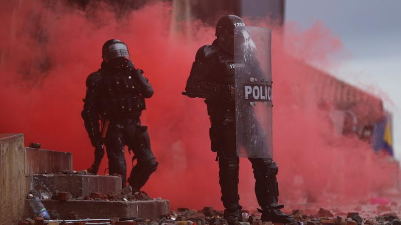 В Колумбии за время протестов погибли более 40 человек