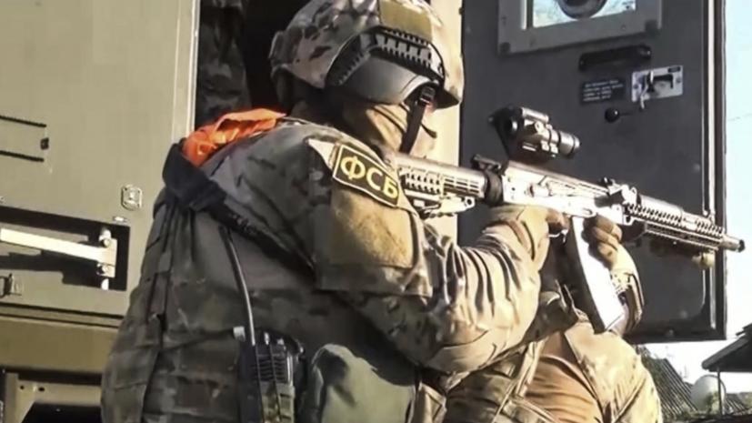 «Оказал вооружённое сопротивление»: ФСБ нейтрализовала боевика в Крыму0