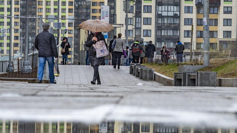«Жёлтый» уровень погодной опасности объявлен в Москве из-за ветра