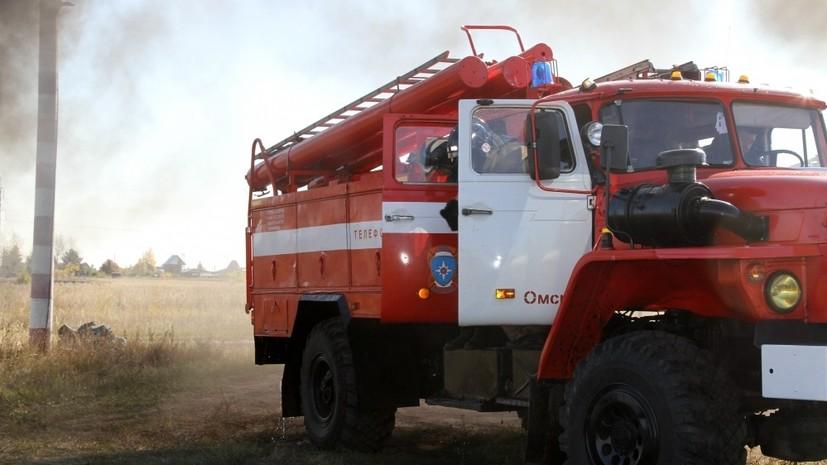 В России за сутки потушили 107 лесных пожаров0