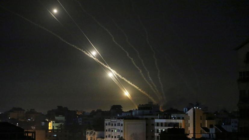 Армия Израиля возобновила обстрелы ключевых целей в секторе Газа
