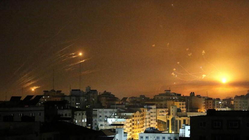 Израиль заявил о пуске тысячи ракет из сектора Газа с начала обострения