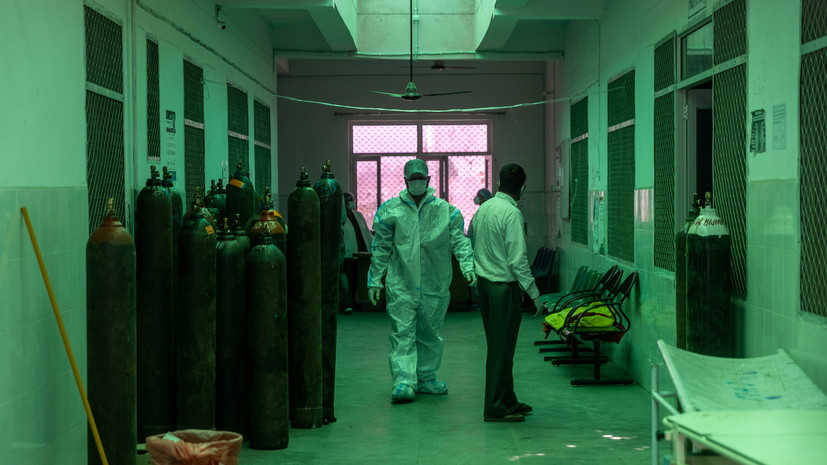 В Индии зафиксировали новый антирекорд по смертности от COVID-19 за сутки