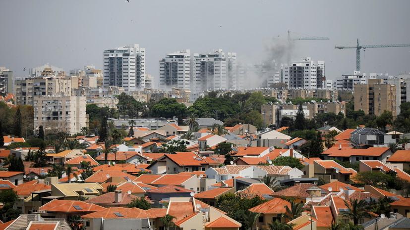 В Израиле рассказали о погибших от ракетных обстрелов из сектора Газа
