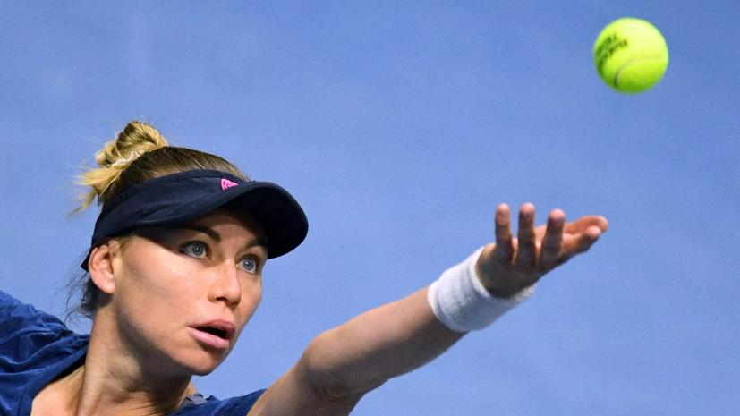 Звонарёва обыграла Квитову во втором круге на турнире WTA в Риме