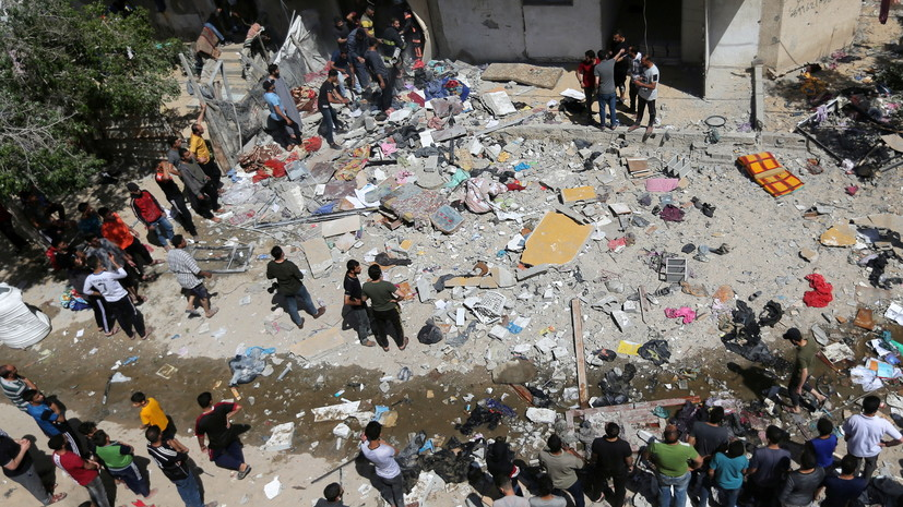 В Палестине сообщили о 56 погибших в результате ударов со стороны Израиля