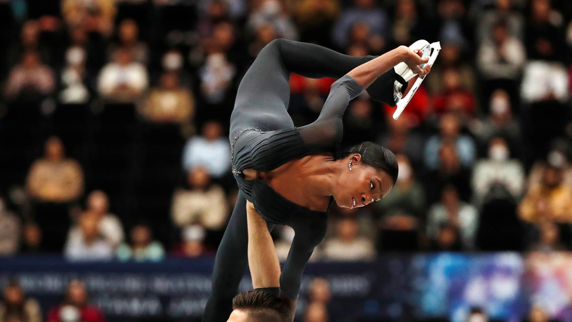 МОК утвердил смену спортивного гражданства фигуристки Джеймс