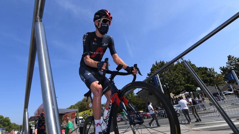 Сиваков сошёл с «Джиро д'Италия»