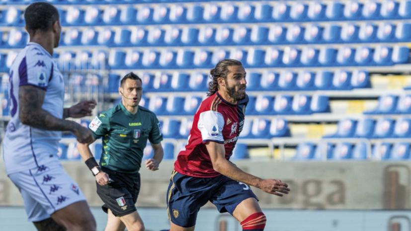 «Фиорентина» сыграла вничью с «Кальяри», Кокорин провёл матч в запасе