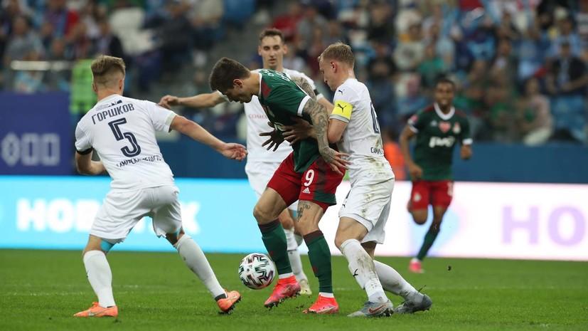 Смолов заявил, что игроки «Локомотива» в перерыве высказали друг другу недовольство игрой в первом тайме